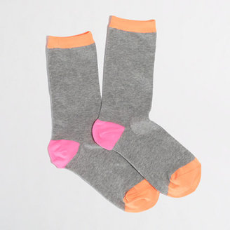 J.Crew Factory Factory tipped trouser socks