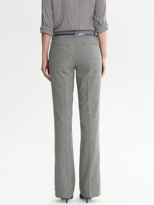 Banana Republic Martin-Fit Charcoal Flannel Trouser