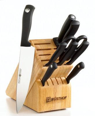 Wusthof Cutlery, Silverpoint 10 Piece Block Set