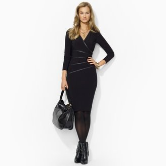 Ralph Lauren Long-Sleeved Jersey Dress