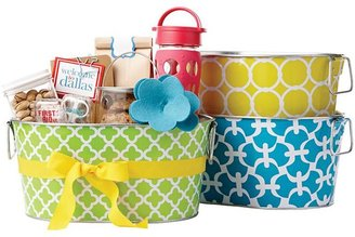 Container Store Jackie Party Tub Lemon