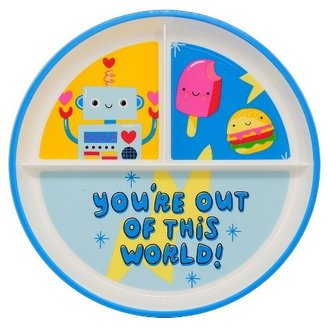 Kids' Plastic Dinner Plate 7.25