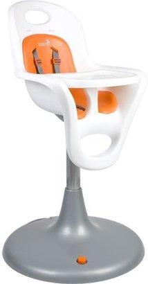 Boon Flair Pedestal High Chair White/Orange