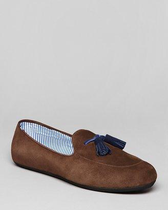 Charles Philip Suede Tassel Loafers