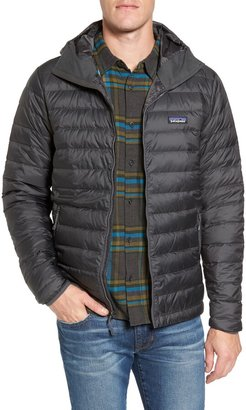 Patagonia Packable Windproof & Water Repellent Down Hooded Jacket