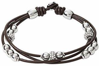 Fossil Rondel Wrist Wraphocolate Bracelets