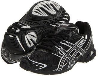 Asics Kids - Gel-Antares 3 GS (Little Kid/Big Kid) (Black/Silver/Black) - Footwear