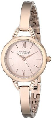 Caravelle New York Women's 44L133 Stainless Steel Swarovski Crystal-Accented Watch $105 thestylecure.com