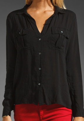 James Perse Double Needle Work Shirt