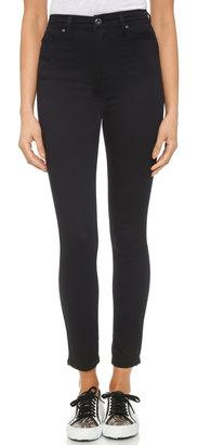 Blank Denim Hi Rise Skinny Jeans $78 thestylecure.com