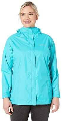 Columbia Plus Size Arcadia IItm Jacket (Geyser) Women's Coat