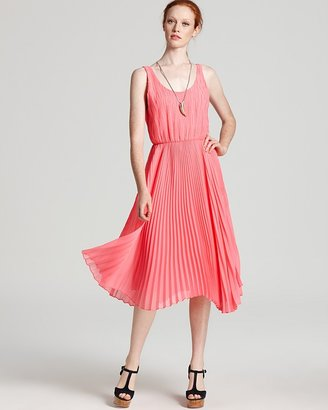 Alice + Olivia Dress - Penny Double Layer Pleated