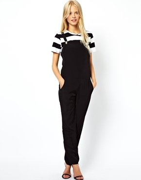 Asos Overalls with Clip Detail - Black