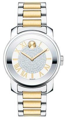Women's Movado 'Bold' Crystal Dial Bracelet Watch, 32Mm $650 thestylecure.com