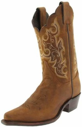"Justin Boots Women's U.S.A. Classic Western 10"" Boot Narrow Square Toe Leather Outsole"