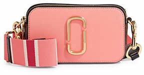 Marc Jacobs Double Top Zip Leather Crossbody Bag