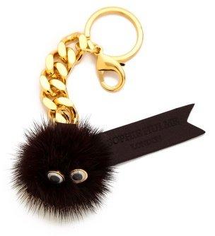 Sophie Hulme Large Pom Pom Man Keychain