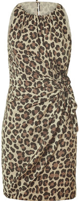 Moschino Cheap & Chic Classic Leopard Printed Dress