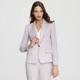 Anne Klein One Button Blazer with Notch Collar