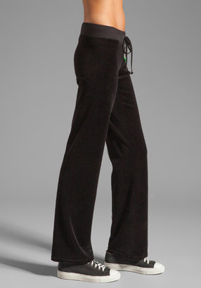 """Juicy Couture Choose Couture"""" Velour Pant"""