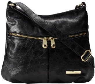 Kenneth Cole Reaction Wooster ST Crossbody - Solid Cross Body Bag