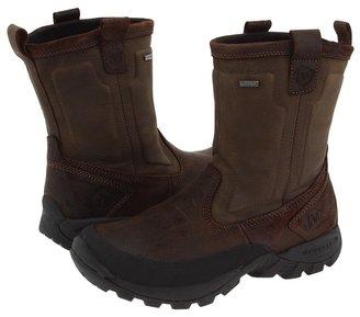 Merrell Bergenz Waterproof (Brown/Stone Leather) - Footwear