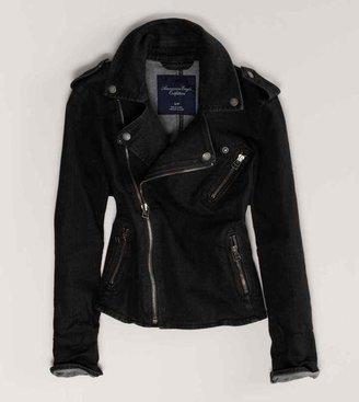 American Eagle AE Denim Moto Jacket