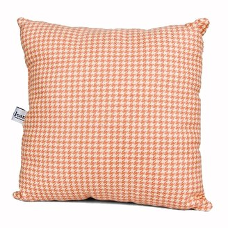 Glenna Jean Just Buggy Pillow - Pink Houndstooth Check