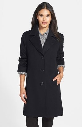 Women's Fleurette Notch Collar Wool Walking Coat $1,049 thestylecure.com