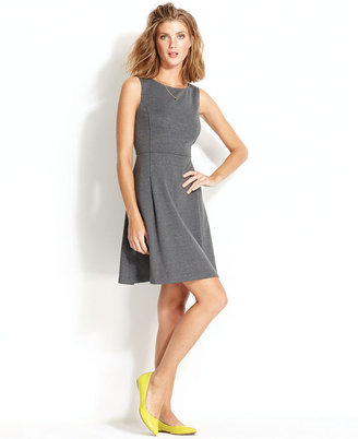 QMack Dress, Sleeveless A-Line Ponte-Knit