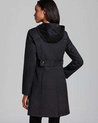 DKNY Rain Coat - Hooded Duffle