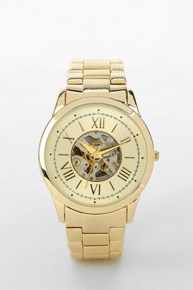 Urban Outfitters Skeleton-Dial Menswear Watch