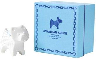 Jonathan Adler Terrier Ornament-White