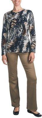 FDJ French Dressing Fall Foliage T-Shirt - Crew Neck, Long Sleeve (For Women)