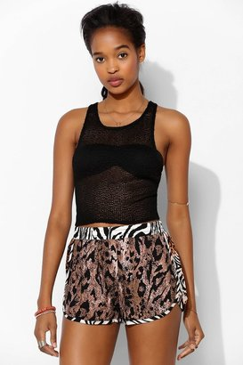 Lucca Couture Allover Print Runner Short