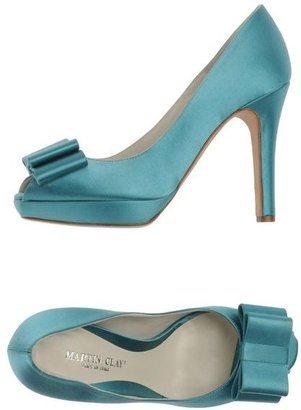 Martin Clay Pumps with open toe