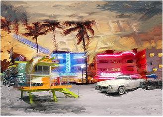 Rooms To Go South Beach Canvas Artwork