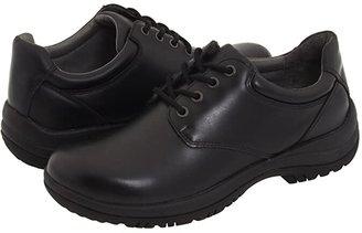 Dansko Walker (Black Smooth Leather) Men's Lace up casual Shoes