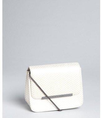 BCBGeneration gold snake embossed faux leather 'Rayna' shoulder bag