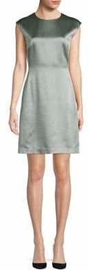 Theory Wool-Blend Sleeveless Dress