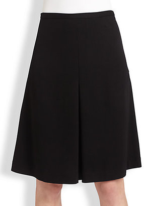 Saks Fifth Avenue Collection Ponte A-Line Skirt