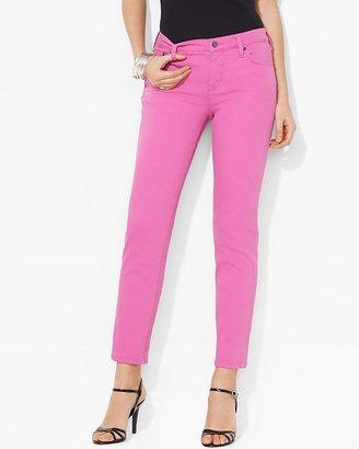 Lauren Ralph Lauren Petites Slimming Modern Straight Ankle Jeans