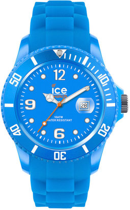 Ice Watch Ice-Watch Watch, Women's Ice-Flashy Neon Blue Silicone Strap 43mm 101975