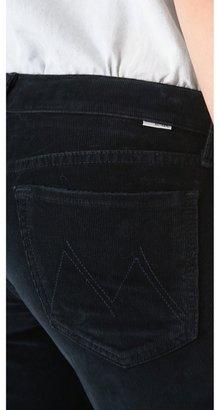Mother Runaway Corduroy Flare Pants
