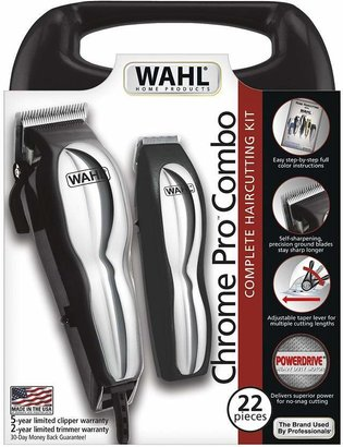 Wahl Chrome Pro Combo Complete Haircutting Kit