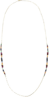 Lana Vivid Twisted Sapphire Necklace
