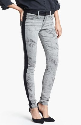 CJ by Cookie Johnson Track Stripe Print Skinny Pants