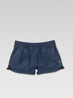 Gucci Girl's Denim Shorts