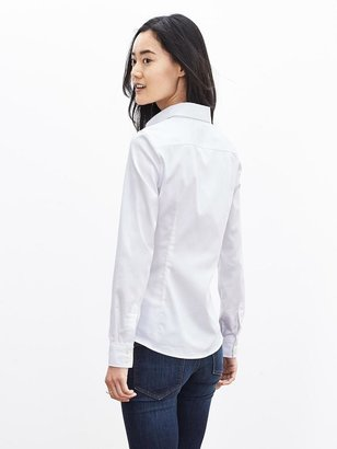 Banana Republic Fitted Non-Iron Sateen Shirt