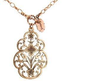 Laurent Gandini Calendimaggio Necklace in Rose Gold